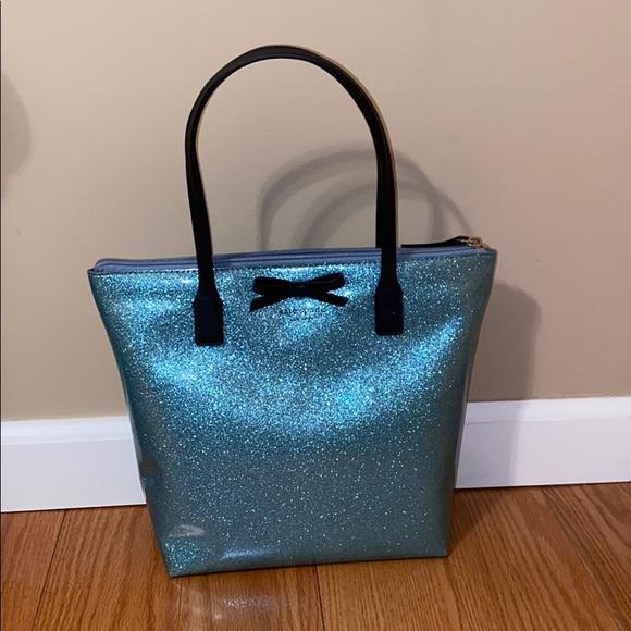 blue sparkle Kate Spade purse!!